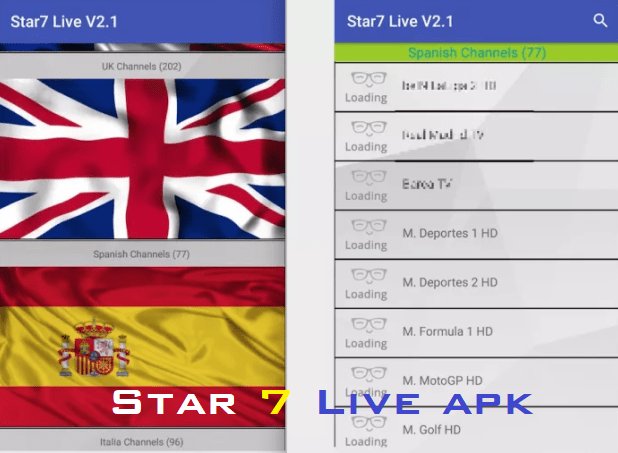 star7 live tv 2.5 apk