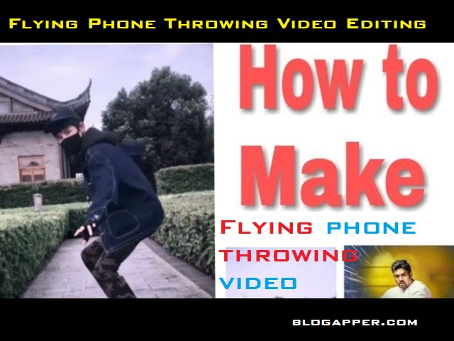 Flying Phone Throwing Video Editing App