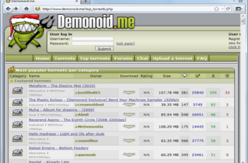 Demonoid Proxy